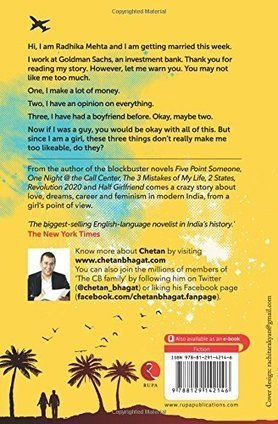 One Indian Girl Review By Chetan Bhagat Book | Grants and scholarships | Scoop.it