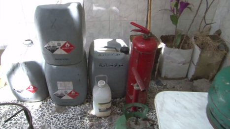 Syrian Rebels' Damascus Chemical Cache Found by Assad Army - State TV | syria-freedom | Scoop.it