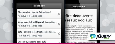 Développer un lecteur de flux RSS avec Jquery Mobile (partie1/2) - | Veille Mobile | Android IOS | Scoop.it