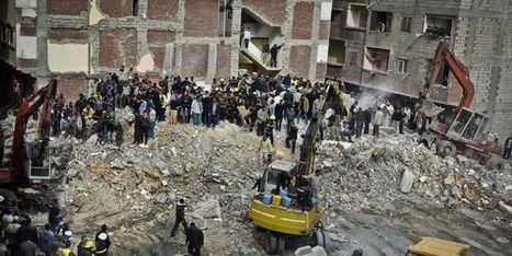 Actualisation: le bilan de l'effondrement d'un immeuble en Egypte s'élève à 24 victimes | Égypt-actus | Scoop.it