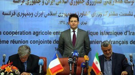 Voyage fructueux à Téhéran pour l'industrie agroalimentaire française | Questions de développement ... | Scoop.it