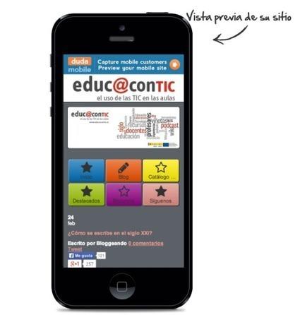 Crea páginas web optimizadas para varios dispositivos móviles con DudaMobile   Nuevas tecnologías aplicadas a la educación   Educa con TIC   Aplicaciones TIC SF   Scoop.it