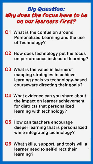 Personalize Learning: Learners NOT Technology | Café puntocom Leche | Scoop.it