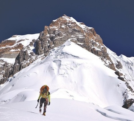 Two Romanians Create History By Climbing to the Mt. Peak 5   365 Hops-Adventure Tours   Scoop.it