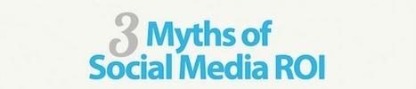 [Infographie] Social media : les 3 mythes autour du ROI | veille Social Media | Scoop.it