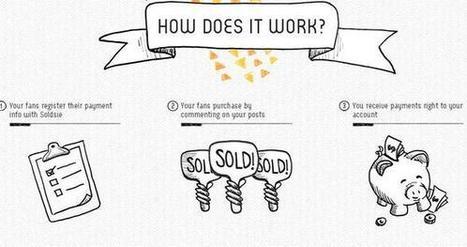 Sur Facebook, Soldsie propose l'achat via le commentaire | Facebook Pages | Scoop.it