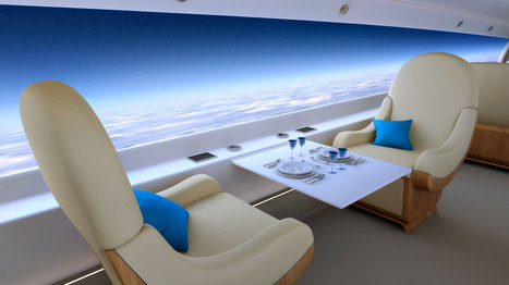 Spike Aerospace's supersonic jet will have first windowless cabin | aerospace mechanic | Scoop.it