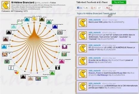 Twitwheel : visualiser les relations entre un compte Twitter et ses followers | Social media - E-reputation | Scoop.it
