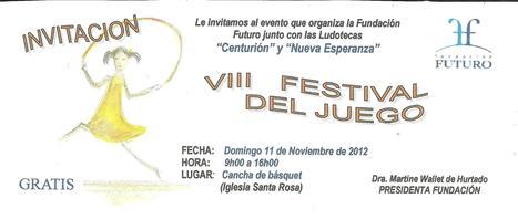 Festival del Juego, San Vicente, Manabí | Actualité du monde associatif, du bénévolat, des ONG, et de l'Equateur | Scoop.it