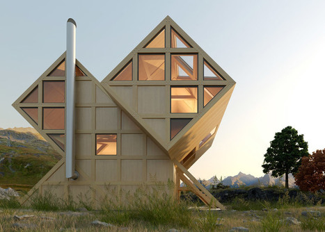 Plan Bureau imagines a twin-peaked wooden house in the mountains | retail and design | Scoop.it