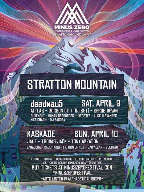 Deadmau5 and Kaskade to headline Minus Zero in Vermont | DJing | Scoop.it