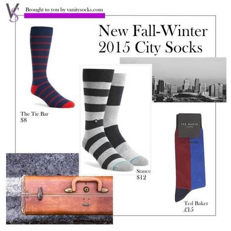 New Fall-Winter 2015 City Socks | vanitysocks | Scoop.it