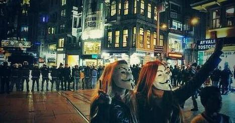 Twitter / YourAnonCentral: #Taksim #İstiklal: ... | Anonymous' MillionMaskMarch | Scoop.it