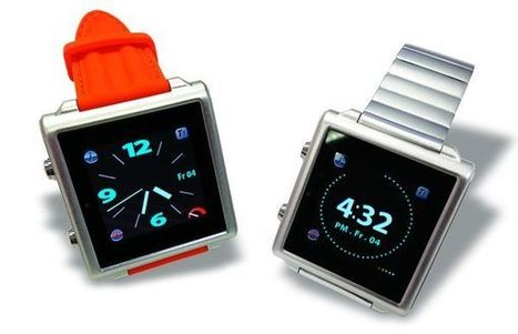 Bluetooth touchscreen watch lets you control smartphone and apps from wrist | DamnGeeky | DamnGeeky | Scoop.it