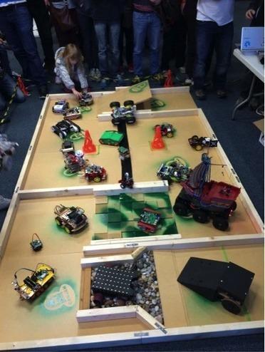 Pi Wars – annual public robot Olympics | Raspberry Pi | Scoop.it