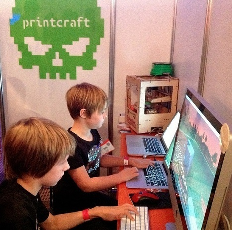 Printcraft: 3D printing in Minecraft! | Big and Open Data, FabLab, Internet of things | Scoop.it