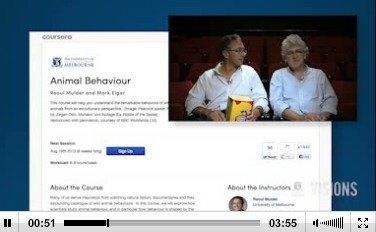 Visions Video Podcast - on MOOCs at Melbourne   Massively MOOC   Scoop.it
