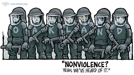 Mike Flugennock: Political Cartoons » Archive » Nonviolence…? | Human Rights and the Will to be free | Scoop.it