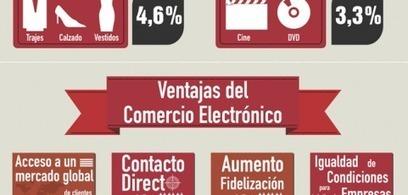 Evolución del comercio electrónico en España [Infografía] | Ticonme | Infografias españa | Scoop.it