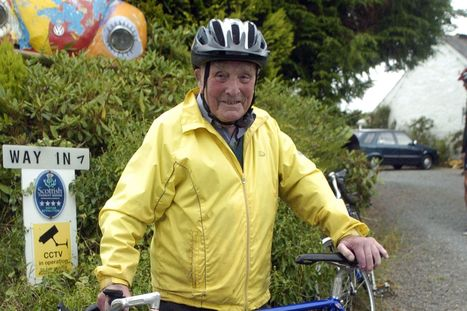 Scot marks 100th birthday by cycling six miles for celebration with friends - Scottish Daily Record | Biking Toronto | Scoop.it