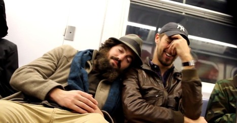 Falling Asleep on Strangers Brings Out Smiles on NYC Subway | MarketingHits | Scoop.it