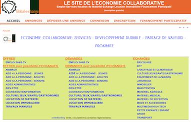 Un site internet d'économie collaborative créé en Charente-Maritime | Digital | Scoop.it