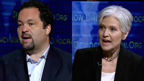 Jill Stein vs. Ben Jealous: Should Progressives Reject Hillary Clinton & Vote Green? | Global politics | Scoop.it