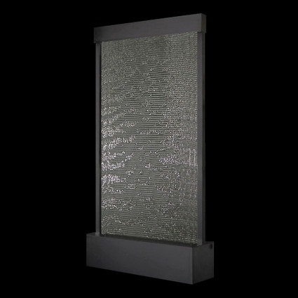Exalted Fountains   Ebony Indoor Waterfall Fountain   Indoor Fountains In All Sizes   Scoop.it