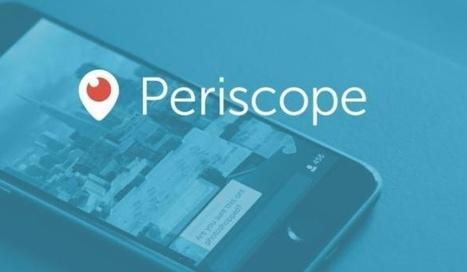 Et si l'application Periscope devenait un média... | Presse-Citron | Socialdigitalnews | Scoop.it