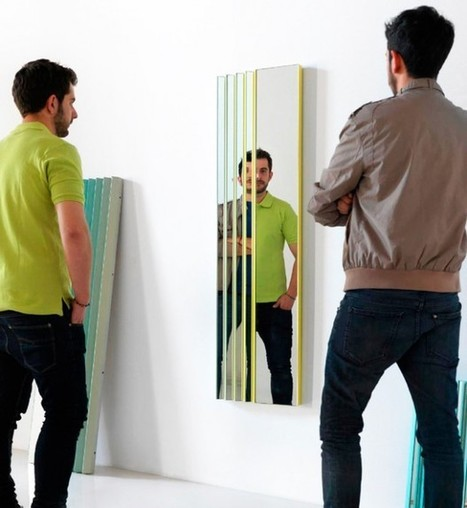 Mirror Creates Cool Optical Illusions | The brain and illusions | Scoop.it
