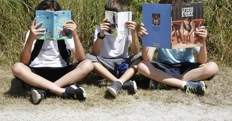 78 % des jeunes aiment lire pour se détendre | Bibliothèque et Techno | Scoop.it