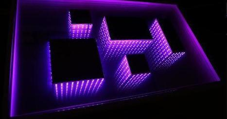 Infinity Mirror Table | Art | Scoop.it