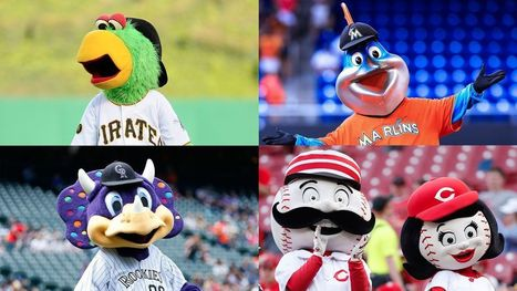 MLB Mascots Union Demands More Bald Fans To Playfully Tease Between Innings   Mascots   Scoop.it