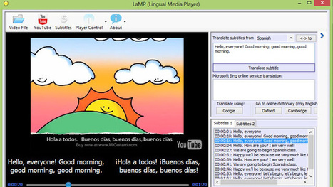 LaMP Teaches You a Foreign Language via Movie and YouTube Subtitles | Writing and Publishing | Scoop.it