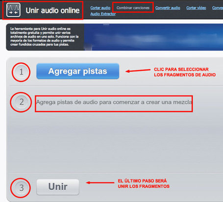 Cómo cortar y unir fragmentos de audio online | Recursos Primaria en Scoop.it | Scoop.it