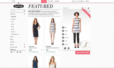 Stylewhile – an online shop with virtual try-on and outfit creator. | startups | Scoop.it