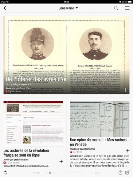 Deux nouveaux magazines de généalogie   Infos généalogiques   Scoop.it
