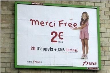 Free Mobile : la campagne de publicité partiellement suspendue   Free Mobile : la révolution. Et après ?   Scoop.it