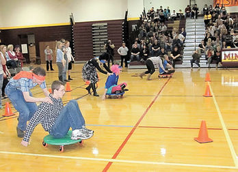 Hunger Games at Minot High School - Minot Daily News | Hunger Games in the Library (and other classrooms) | Scoop.it