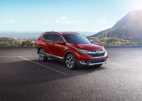 2017 Honda CR-V Officially Unveiled | Maxabout Cars | Scoop.it
