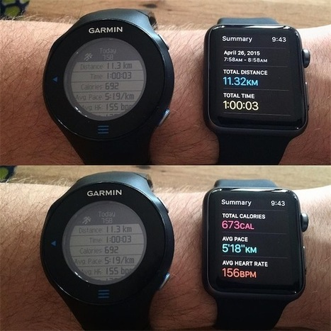 Apple Watch : des écrans solides et une grande précision dans les données sportives | Apple, IMac and other Iproducts | Scoop.it