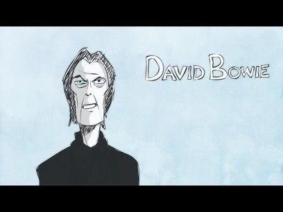 Bowie Reveals The Secret Origin Of Ziggy Stardust In This Great Cartoon - io9 | Machinimania | Scoop.it