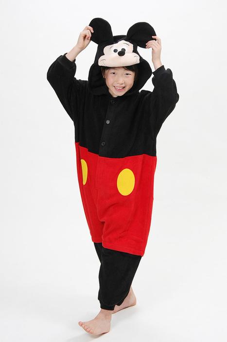 Kids onesies Mickey Kigurumi animal onesies costumes | kids animal onesies | Scoop.it