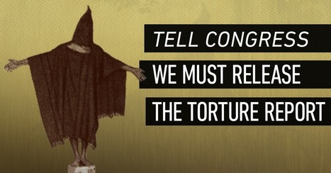 USA:  Release the Torture Report Now! | Human Rights and the Will to be free | Scoop.it