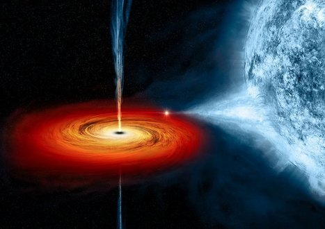 A nearby black hole just erupted for the first time in 26 years and scientists are ecstatic | Semiotic Adventures with Genetic Algorithms | Scoop.it