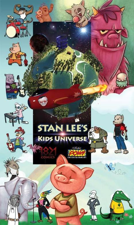 Stan Lee's Kid's Universe | About the Universe | Transmedia: Storytelling for the Digital Age | Scoop.it | Tracking Transmedia | Scoop.it