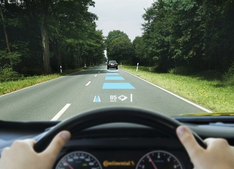 Así luce el Head-up Display más revolucionario | aprender a emprender | Scoop.it