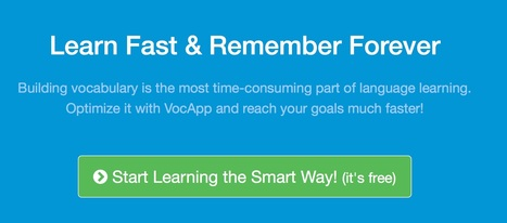 VocApp Flashcards - Optimize Your Learning | Language learning and technology | Scoop.it