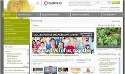 Social intranet case study: Quintiles | Intranet Blog | Social intranet | Scoop.it