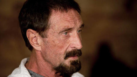 John McAfee Headed to Miami International Airport After Release in Guatemala | The Billy Pulpit | Scoop.it